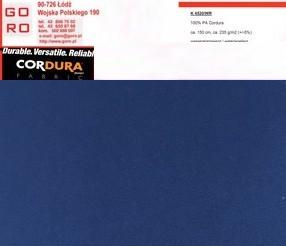 CORDURA kolor Granat