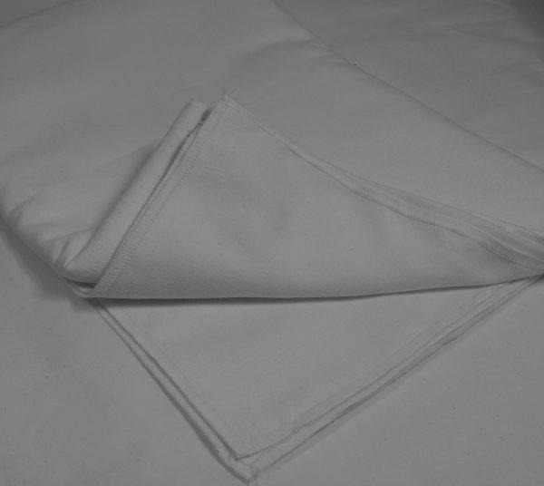 Mikrofibra na ręczniki biała