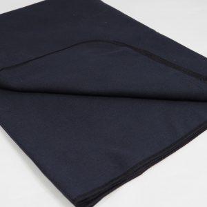 Mikrofibra na ręczniki czarna